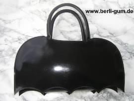 Black Rubber Tasche Bat-Wing - Bild vergrößern